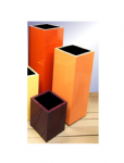Tall Square Planters Fibreglass